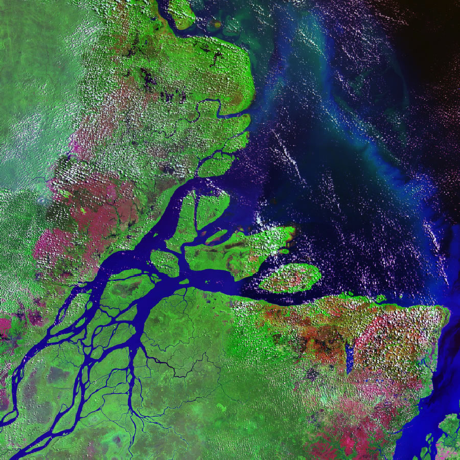 The Amazon River Lessons Tes Teach - Map of south america amazon river